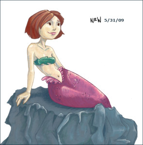Mermaid by N.R. Wick